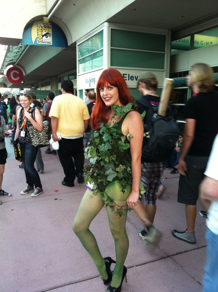 Poison Ivy at San Diego Comic-Con 2011.Poison Ivy, San Diego, Comics Cosplay, Comics Con 2011, Animemanga Cosplay, 2011 San, Diego Comiccon, Comiccon 2011, Diego Comics With