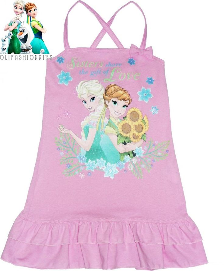 Disney Frozen Fever  100%Cotton Dress