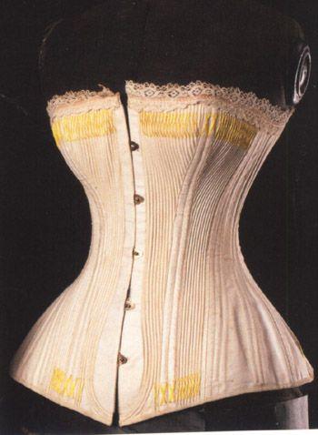 All The Pretty Dresses: Small Bustle Era Corset