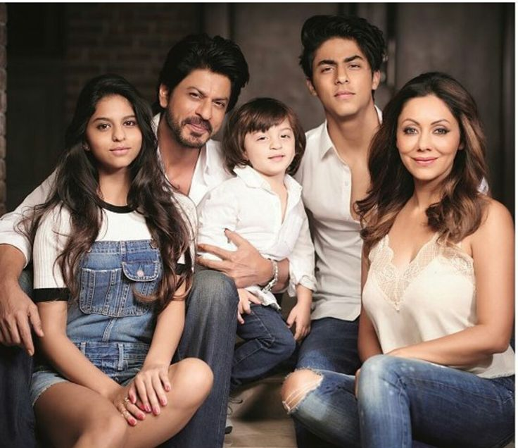 SRK and family.  So, 3rd child via surrogacy...or adopted?