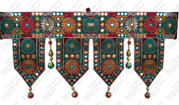 Indian wall hangings, kutch work designs toran, buy toran india, online toran indian, handmade toran