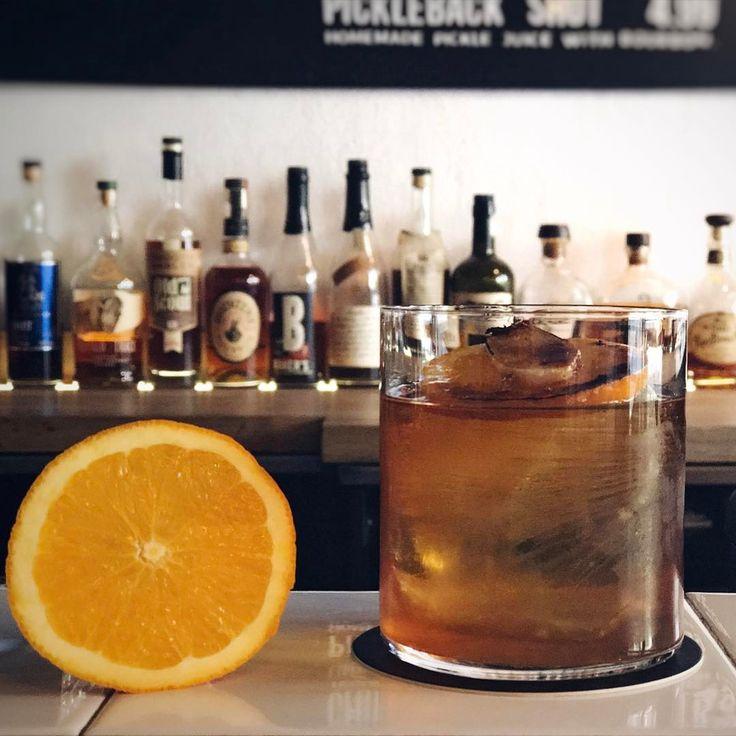 O&G Zest! Rye whiskey, Pimm's aperitif, Orange liqueur, Ginger :) #craftcocktail #cocktail #whiskey #orange #ginger