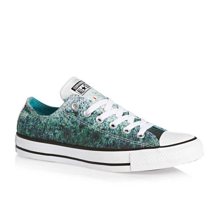 Converse Shoes - Converse Ox Shoes - Peacock/white