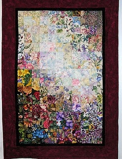 Watercolor quilts - beautiful!