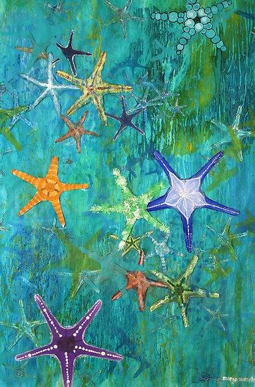 starfish painting