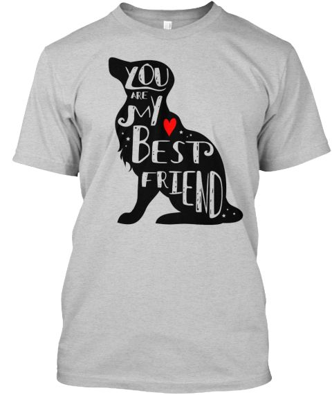 b7552832a Funny Dog Shirts Custom Dog T Shirts Light Steel T-Shirt Front ...
