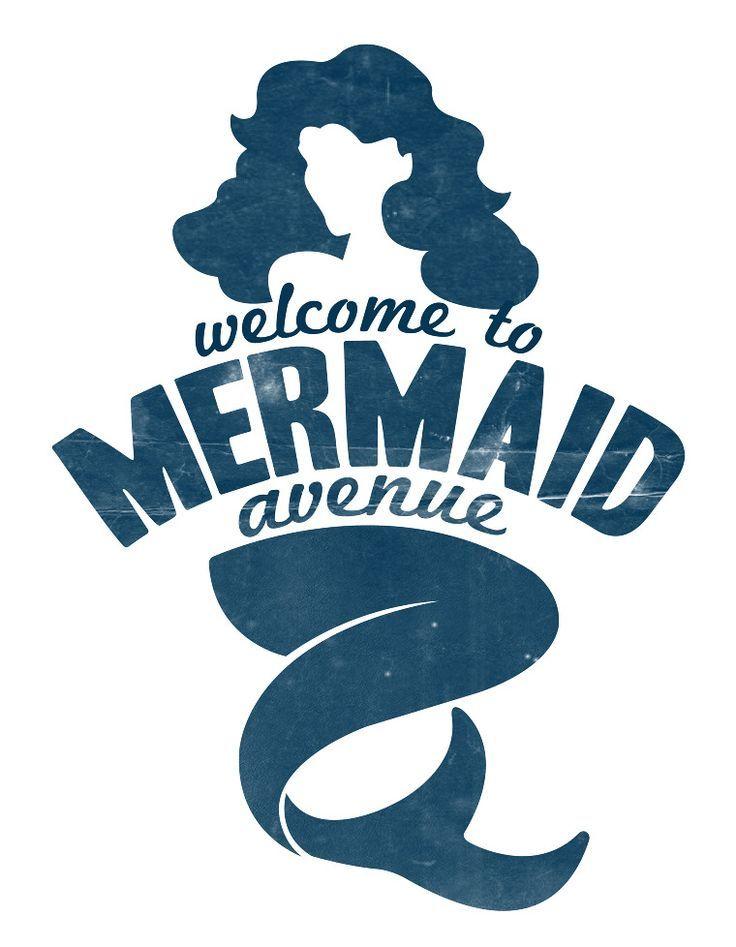 mermaid logo | logo design | Pinterest