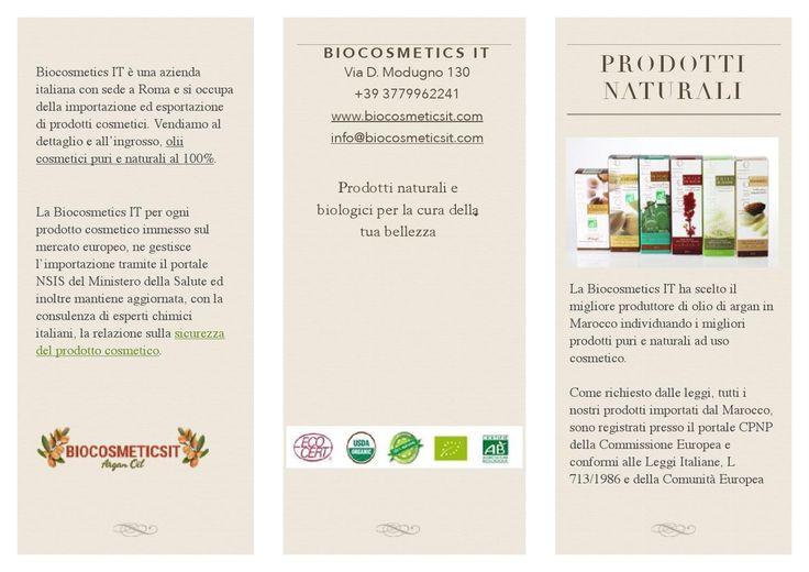 Biocosmetics it brochure