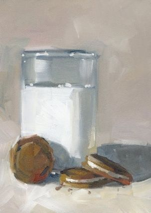 CONTEMPORARY IMPRESSIONIST STILL LIFE by TOM BROWN -- Tom Brown