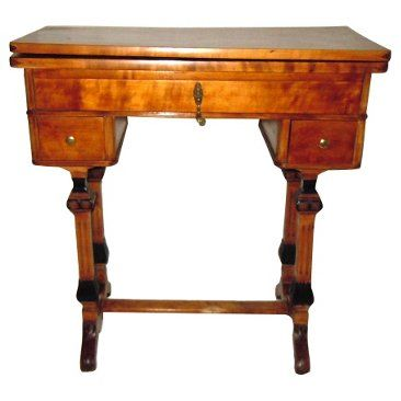 Check out this item at One Kings Lane! 19th-C. Scandinavian Game Table