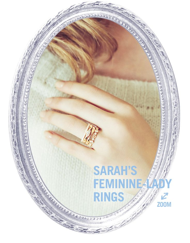 SARAH'S FEMININE-LADY RINGS