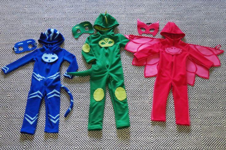 DIY PJ Masks Costumes