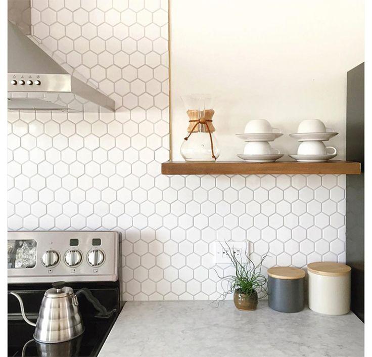 Liefde voor de geometrische hexagoon a.k.a honingraat