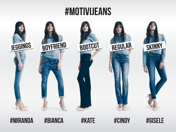 #MotiviJeans: much more than simple pants! Spring/summer #denim is super trendy: which pair would you choose for a night out with your best friends?