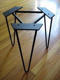 Hairpin Legs   Metal Table Legs   Stainless Steel Legs   Custom Furniture Legs