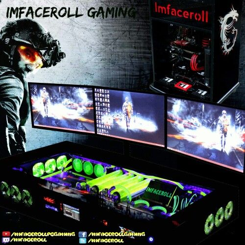 Imfaceroll gaming banner youtube facebook  www.youtube.com/imfacerollpcgaming profile picture