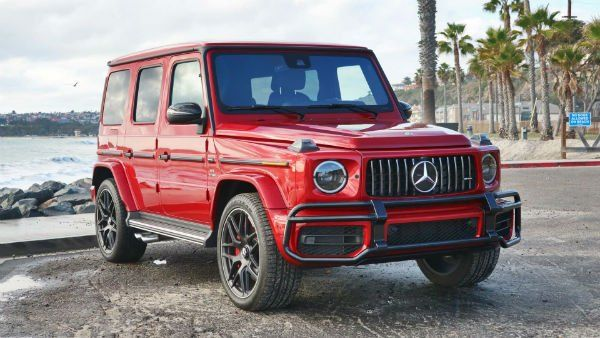 Mercedes Benz G Class 2019 Red In 2020 With Images Mercedes