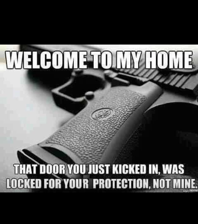 Love this ahha. Guns protection of the home quotes