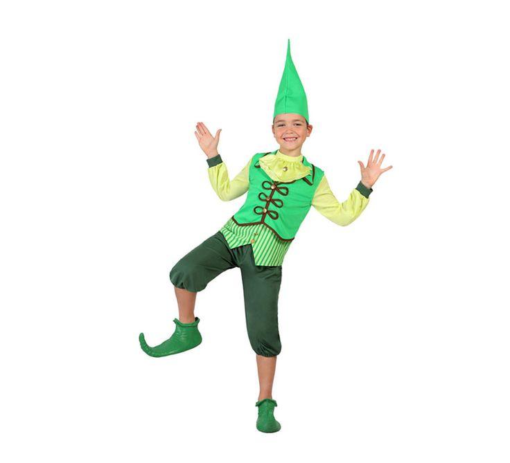 #Disfraz de #Duende Verde #Irlandés para niño. #saintpatrick #stpatrick #sanpatricio #disfraces #disfrazzes #costume #costumes