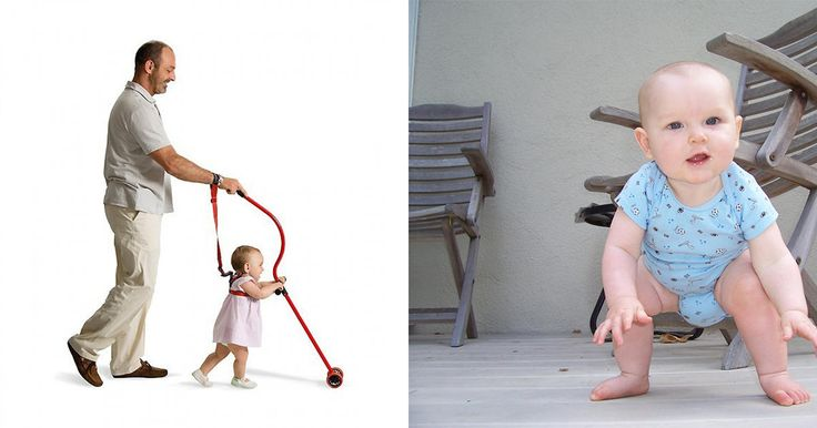 Durante el primer año de vida, tu bebé desarrolla la coordinación de sus movimientos y fortalece sus músculos. Primero,aprenderá a sentarse y gatear.Después a mantenerse de pie y, a partir de ahí, todo es cuestión de confianza y equilibrio. Algunos bebés caminan antes del año, otros pueden demorarse hasta los 16 ó 17 meses, sin que signifique un retraso en su desarrollo. Mientras, seguirá perfeccionando su desplazamiento con la ayuda de un apoyo.