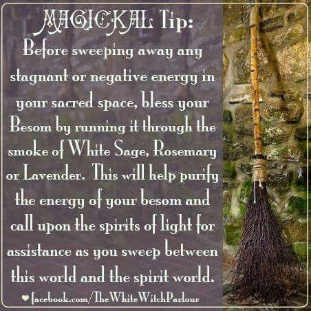 Magickal Tools | The Besom - Purifying the Besom
