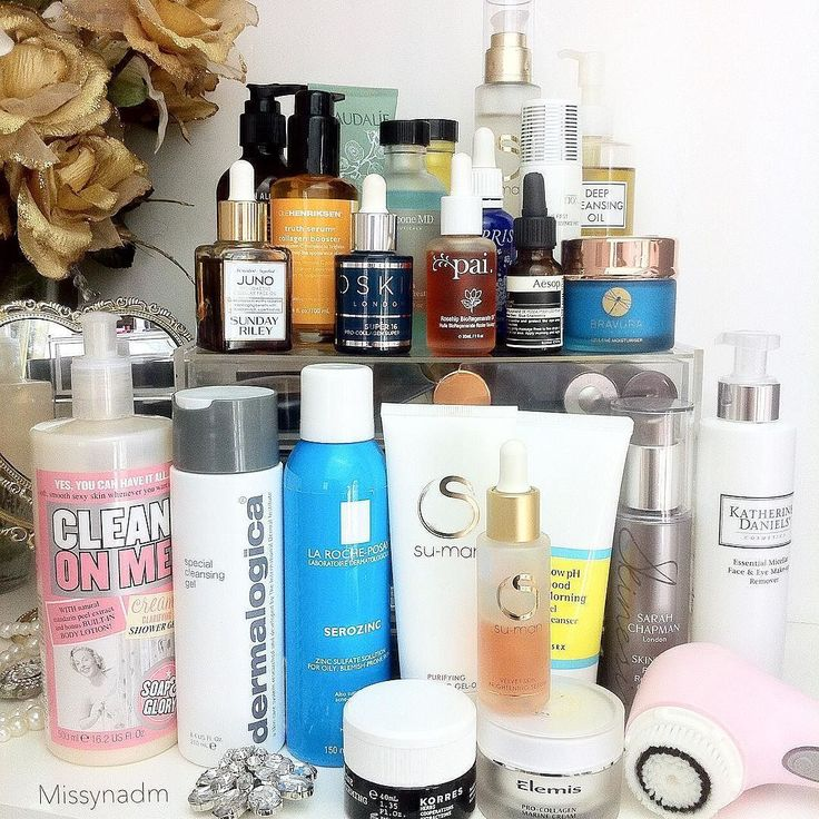 My all time Favourite/Top Shelf skincare products