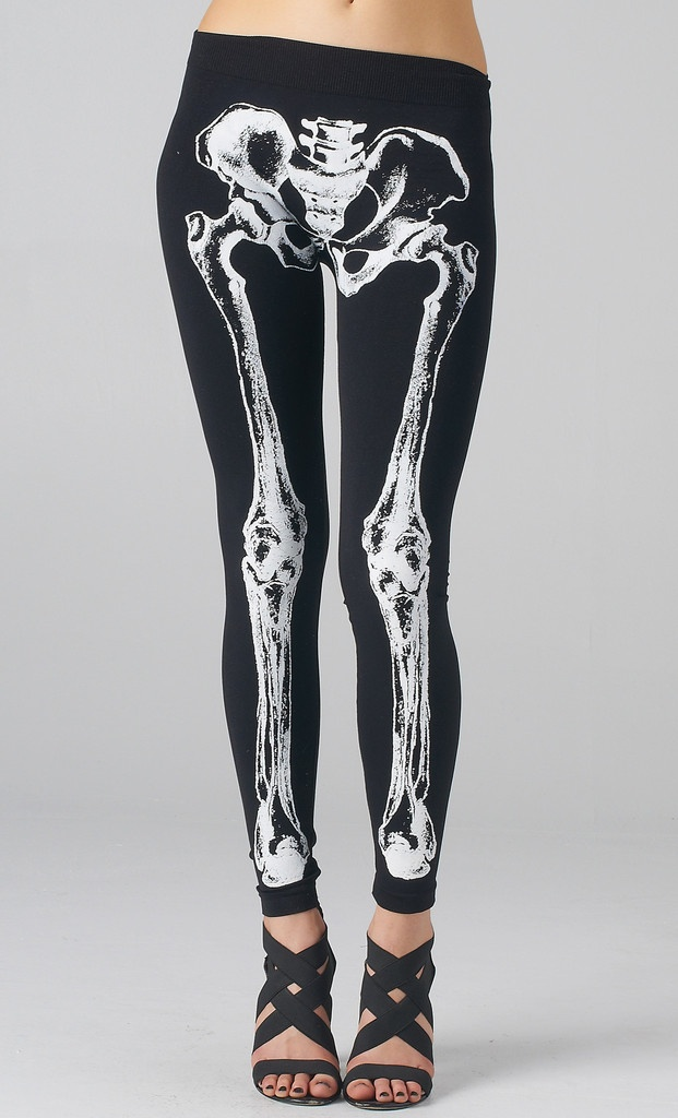 Skeleton Leggings - i like these but I'd only wear them for lounging around my house.