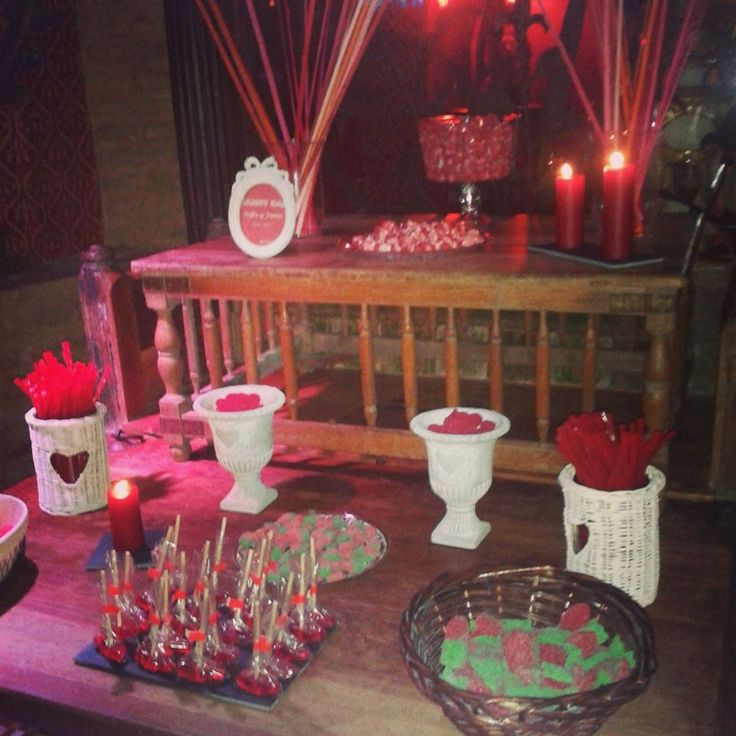 Candy Bar Colonial rojo  Barcelo Sancti Petri