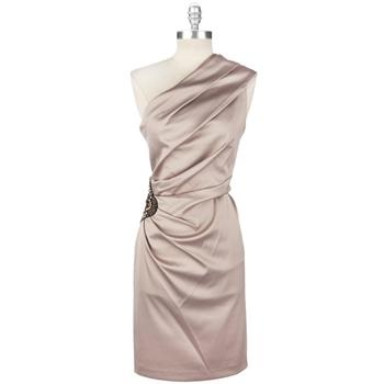 Eliza J One-Shoulder Satin Jeweled DressDresses Vonmaur, Fashion, Bridesmaid Dresses, Jewels Dresses Lov, One Should Satin, Beautiful Dresses, Von Maur Dresses Mothers, Satin Jewels, Bold Colors