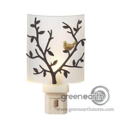 Green Earth Stores  Night Light - Bird on Branch $19.99