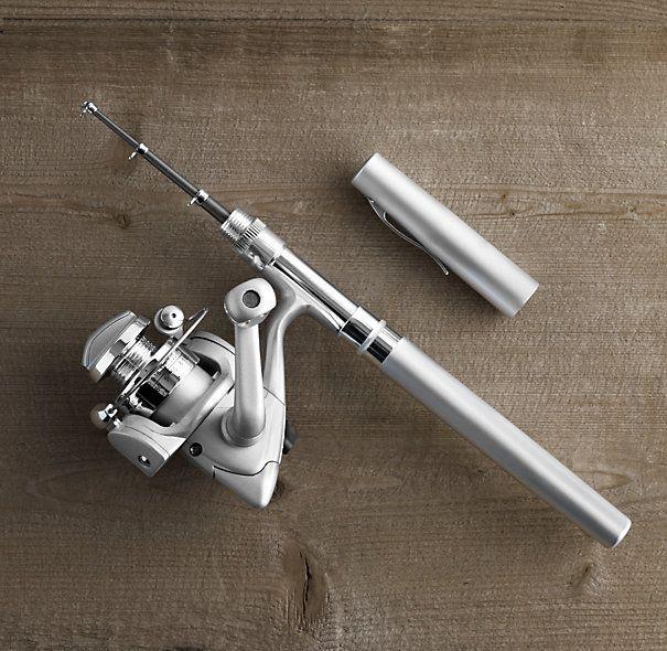 Pocket Fishing Pole - Restoration Hardware $45