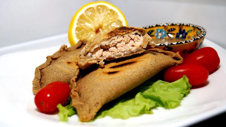 Диетические чебуреки из чечевицы и гречи с рыбной начинкой!!! - правильный обед (диетические панини/бурито/тортильи) - Полезные рецепты - Правильное питание или как правильно похудеть