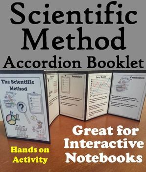 This scientific method accordion Booklet is a fun hands on activity for students to use in their interactive notebooks.