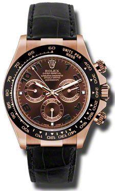 Rolex - Daytona Everose Gold - Leather Strap