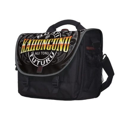 Ngati Kahungunu Lifer Moko Chrome Laptop Messenger Bag