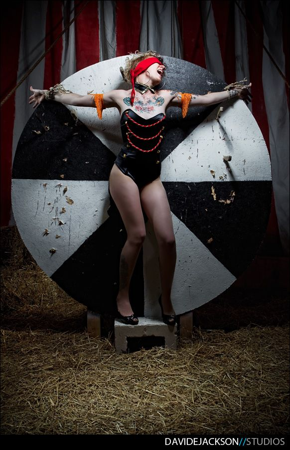 "SHEAR CHAOS SALON :: CIRCUS SHOOT (PART ONE ""The Artsy Sh!t"") // David E Jackson // A Photographer"
