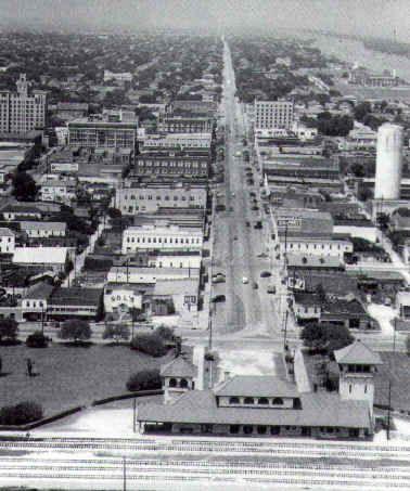 Downtown Port Arthur Texas