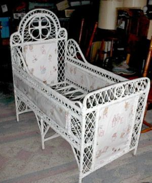 Awesome antiqueor baby crib or bed circa late 19th century.