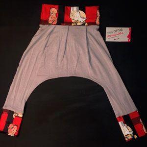 Image of Pantalons évolutifs Saourel castor et orignal (Enfants) / Beaver and moose saourel pants (children)