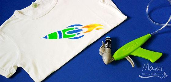 mami chips & crafts: Personalizzare le magliette con Crayola