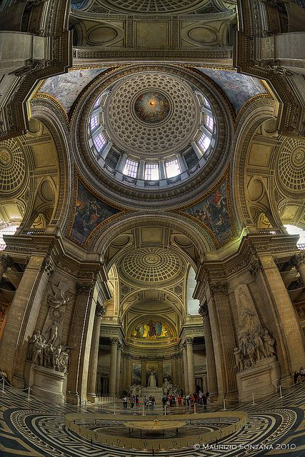 Paris Pantheon 02 by Maurizio Fontana, via Flickr