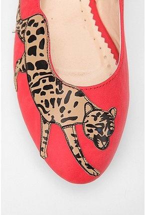 cheetah ballet flats!