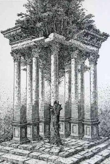 Orosz István: Mitológia II (a tölgy)