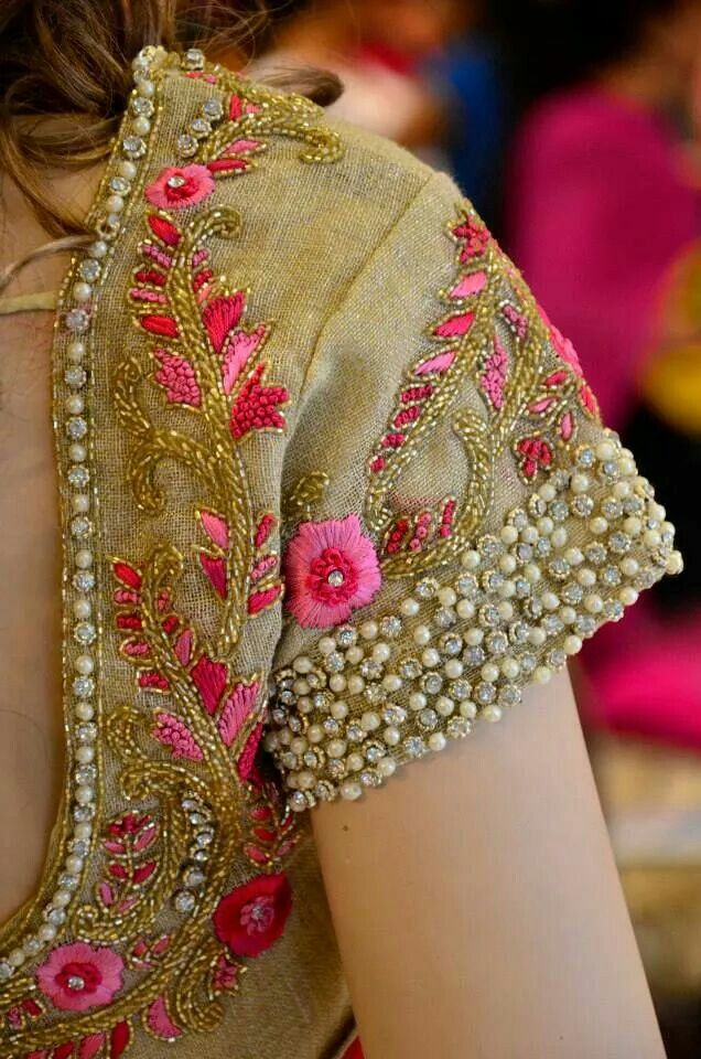 1000+ Images About Fashion On Pinterest | Blouse Designs Stone Work And Saree Blouse Patterns