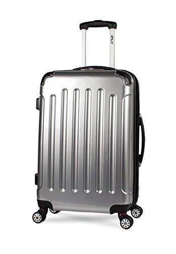 New Trending Luggage: iFLY Carbon Racing Hard Sided Medium Checked Luggage, Silver. iFLY Carbon Racing Hard Sided Medium Checked Luggage, Silver   Special Offer: $69.00      288 Reviews Hey, savvy traveler, are you looking for a way to beat the baggage burden? Introducing carefree luggage checking from iFLY. Durable ABS/PC design is ready for rough handling and the EZ pack...