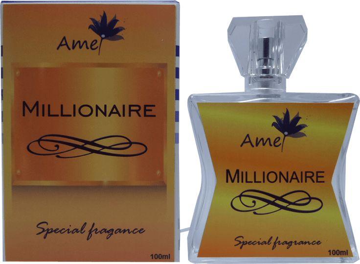 Perfume Millionaire, inspirado no perfume 1 Million de Paco Rabanne | Perfumes Amei Cosméticos Perfumes Femininos e Masculinos