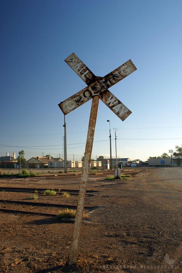 Railway in Marree