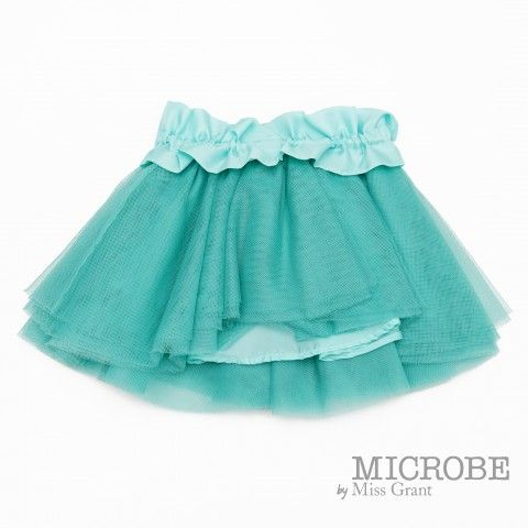 MICROBE by #missgrant FLOUNCED SKIRT COMBINED FABRICS. Sale 50% off Spring&Summer Collection! #discount