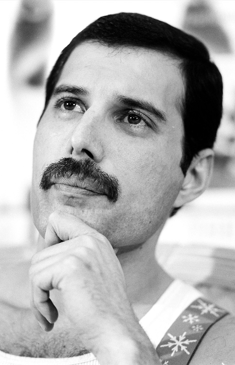 Freddie Mercury :) My fav singer of all time.  I have many favorites but he's at the top of my list.
