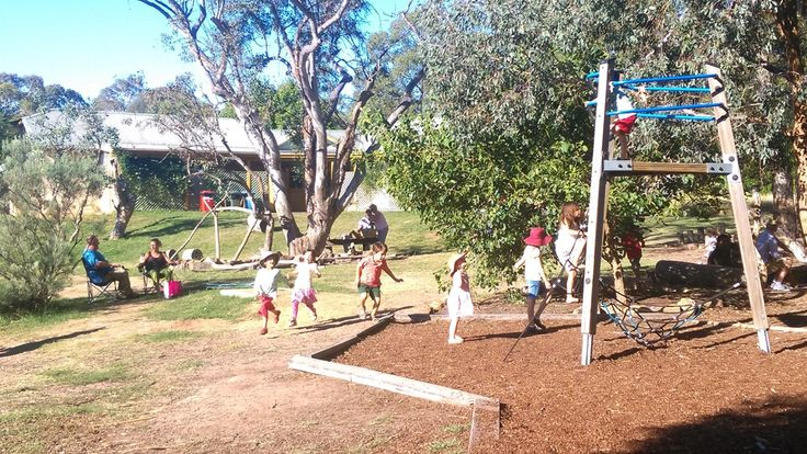 Families enjoying a fun afternoon in the sun at Orana Day